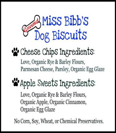 MISS BIBBS GOURMET DOG BISCUITS, Planet Urine